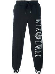 спортивные брюки с принтом логотипа KTZ