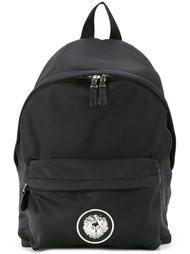 рюкзак с бляшкой с логотипом Versus