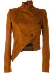 асимметричный укороченный пиджак Ann Demeulemeester