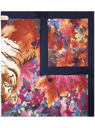 шарф с принтом тигров Salvatore Ferragamo