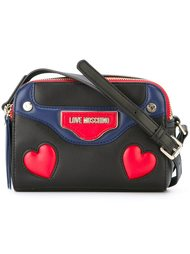 сумка через плечо с логотипом  Love Moschino