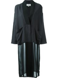 пальто-кимоно на пуговицах 5 Preview