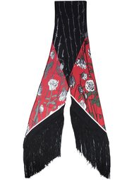 rose print scarf Rockins
