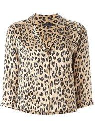 рубашка с леопардовым принтом  Equipment