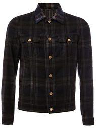 клетчатая куртка-рубашка Lanvin