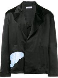 пиджак с принтом улитки J.W. Anderson