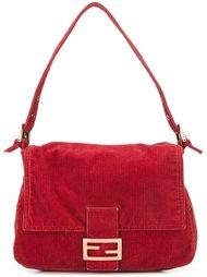 вельветовая сумка на плечо Fendi Vintage