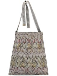 сумка на плечо с волнистым узором Missoni Vintage