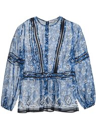 printed blouse Veronica Beard