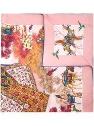 шарф с принтом восточных ковров Salvatore Ferragamo