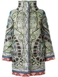 пальто с абстрактным принтом   Etro