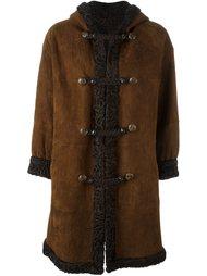 двухстороннее пальто из овчины Yves Saint Laurent Vintage