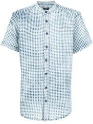 shortsleeved gingham check shirt Publish