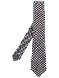 галстук в ломаную клетку Brunello Cucinelli