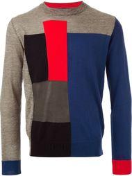 лоскутный свитер  Diesel