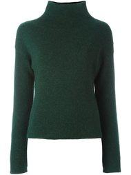 свитер с отворотной горловиной Cédric Charlier