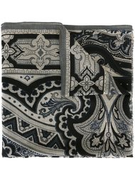 geometric floral scarf Etro