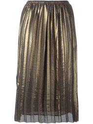 юбка 'Madlen' с отделкой металлик Isabel Marant Étoile