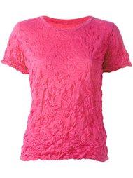 футболка с мятым эффектом Issey Miyake Cauliflower