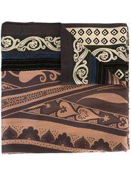 floral geometric scarf Etro