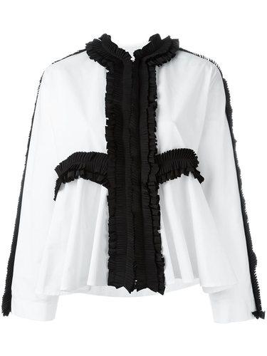 блузка с плиссированными деталями Antonio Marras