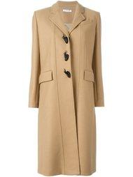 классическое однобортное пальто  J.W. Anderson