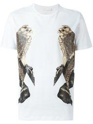 футболка с принтом птиц Neil Barrett