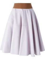 расклешенная юбка с поясом Marni