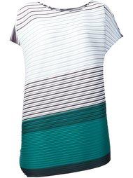 платье в стиле колор-блок  Pleats Please By Issey Miyake
