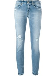 distressed skinny jeans Dondup