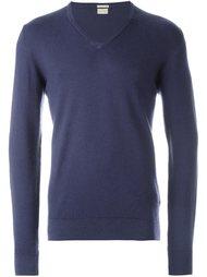 свитер с V-образным вырезом Massimo Alba