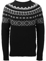 свитер с узором 'fair isle' Moncler