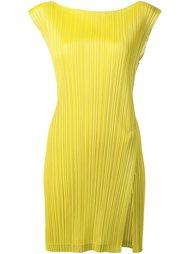 платье с гофрированным дизайном  Pleats Please By Issey Miyake