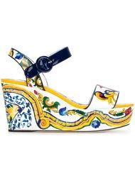 босоножки на танкетке 'Keira' Dolce & Gabbana