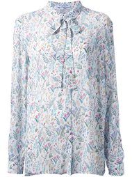 floral print long-sleeved blouse Vivetta