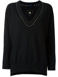 studded V-neck sweater Twin-Set