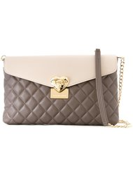 colour block quilted bag Love Moschino