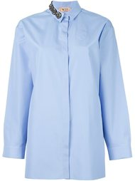 embellished collar shirt Nº21