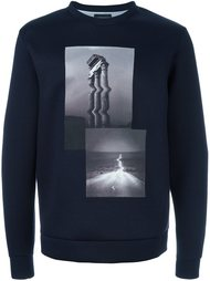 photo print sweatshirt Emporio Armani
