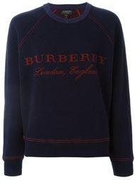 front logo sweatshirt Burberry