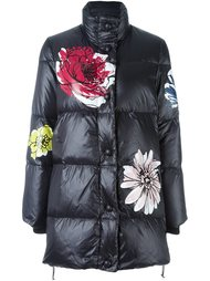 flower print coat Boutique Moschino
