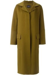 long three-button coat Odeeh