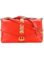 letters buckle shoulder bag Moschino
