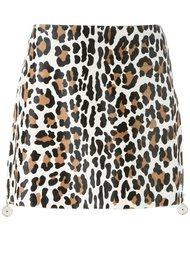 leopard print skirt Drome