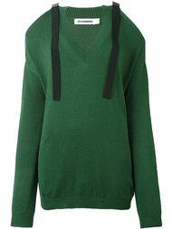 cut-off shoulders sweater Jil Sander