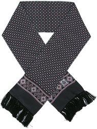 шарф с мелким узором Dolce & Gabbana