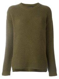 chunky knit sweater Odeeh
