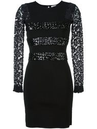 sequin and lace inserts dress Sonia By Sonia Rykiel