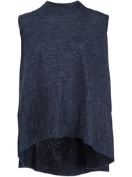 sleeveless flared T-shirt Co