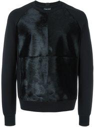 panelled sweatshirt Emporio Armani